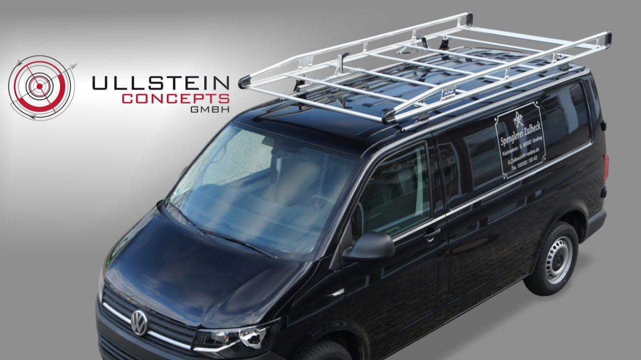 dachtr ger alurack volkswagen t6 transporter caravelle. Black Bedroom Furniture Sets. Home Design Ideas