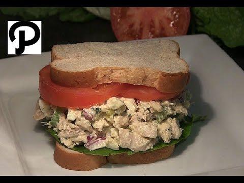The Best Chicken Salad Recipe How To Make A Chicken Salad Sandwich