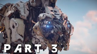 HORIZON ZERO DAWN Walkthrough Gameplay Part 3 - Sawtooth (PS4 Pro)