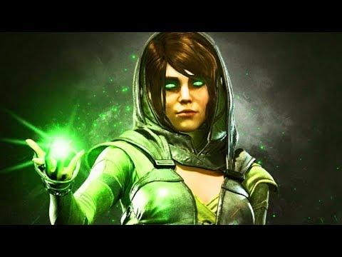 INJUSTICE 2: ALL ENCHANTRESS Intros (Dialogue & Character Banter) 1080p HD