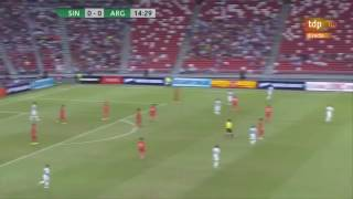 Singapore vs Argentina 0-6 - Highlights & Goals - 13 June 2017