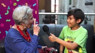 Cosa de niños entrevista Elena Poniatowska