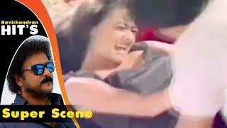 Devaraj's friend tries to Assault  his sister | Bannada Gejje Kannada Movie | kannada Scenes