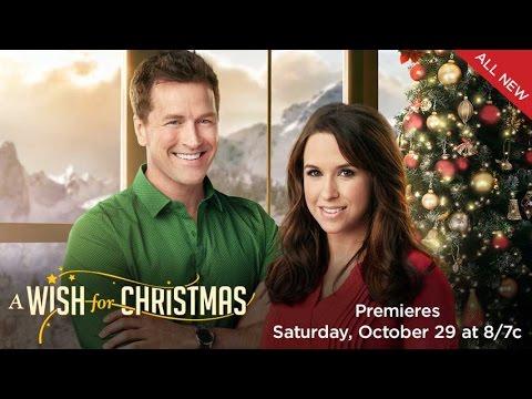 Wish For Christmas.A Wish For Christmas Hallmark Channel S Movie Kicks Off