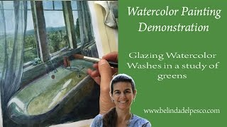 Gambar cover How to use Watercolor Glazes: Painting in layers for more control in watercolors