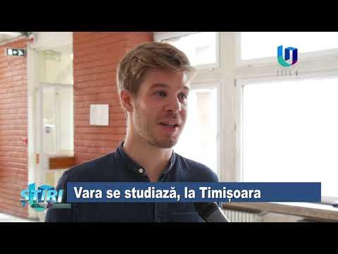 TeleU: Vara se studiază, la Timișoara