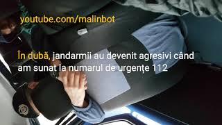 Malin Bot: Momentul când jandarmii m-au reținut abuziv. Imagini din dubă și de la secție
