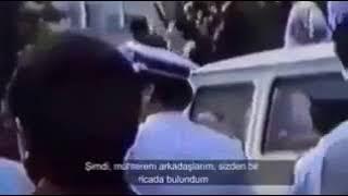 Temel Karamollaoğlu Sivas katliamı madımak olaylarında halkı sükunete çağırırken!