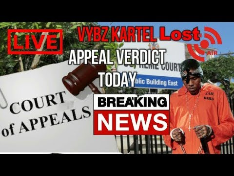Breaking News : Vybz Kartel, & Co Accused Lose Their Appeal