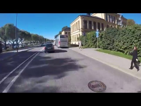 The streets of Stockholm on two wheels - nineteen