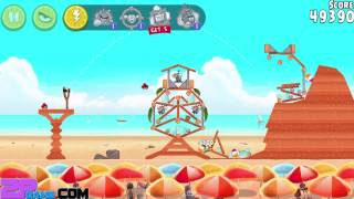 Angry Birds Rio - Rovio Entertainment Ltd BEACH VOLLEY Level 1-7