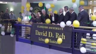 Clarkson University School of Business Renamed: David D. Reh School of Business