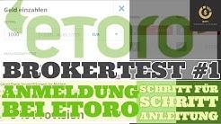 Anmeldung bei Etoro - der erste Schritt zum Investieren und Traden erklärt (Brokertest #1)