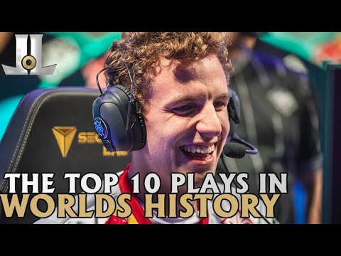 The Top 10 Plays in Worlds History | 2019 Lol esports