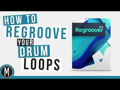 How to REGROOVE your DRUM LOOPS - Regroover Review & Walkthrough
