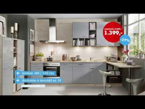 7a61f0ec5ee8a Möbelix - Kuchyne na mieru - YouTube