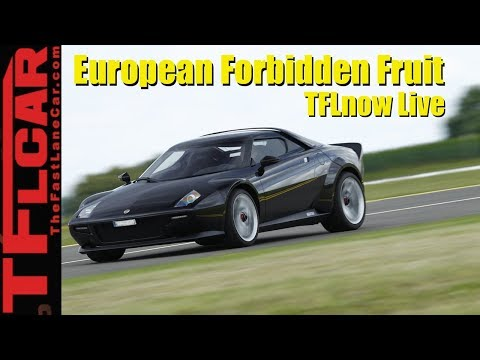 Top 10 European Cars Americans Can Only Dream About - TFLnow Live Show #5