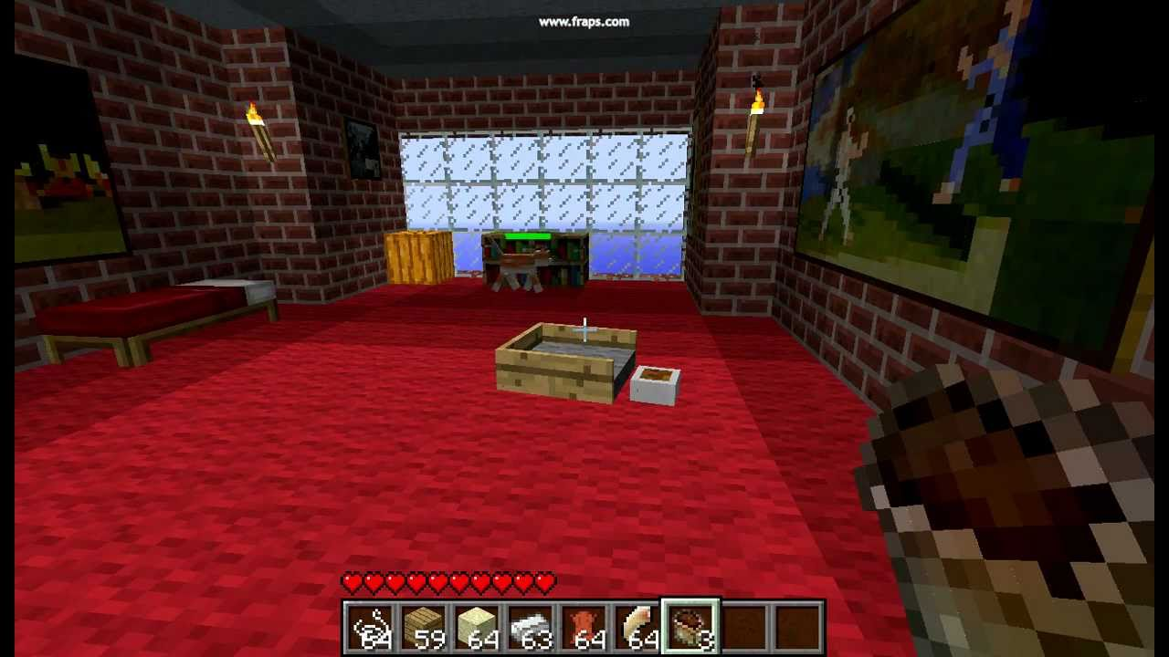 30 Second Minecraft Crafting Mo Creatures Kitty Food