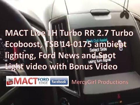 MACT Live LH Turbo RR Ambient Light TSB and Spot LIght video with Bonus Video
