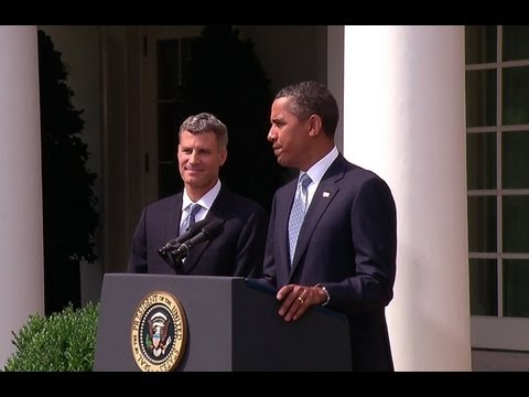 President Obama Announces New Economic Adviser