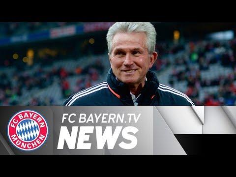Jupp Heynckes back at Bayern Munich!