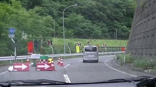 国道283号線(旧道) 陸中大橋→仙人トンネル 仙人峠 2017.6.18 [11:50頃] 岩手県釜石市