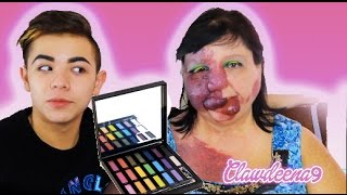 URBAN DECAY FULL SPECTRUM PALETTE REVIEW Ft. My Mom! - Clawdeena9