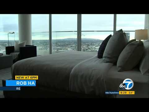 Downtown Los Angeles penthouse rental listed for $100K per month