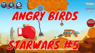 ANGRY BIRDS STAR WARS 2 DEFEAT DESERT CLONE  | Top Action Games Part 5