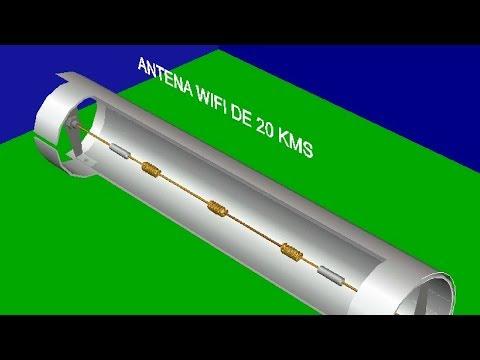 Diseño de Antena Wifi Ultra Potente /Construcción Funcionamiento y Prueba 📶 / # 3 TODO EN UNO