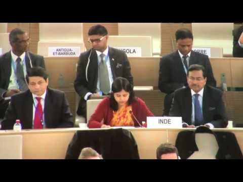 Indian Deplomat Nabanita Chakraborti Slaps Pakistan in United Nations Geneva , Sushma swaraj #UNGA