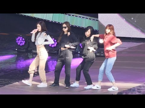 171028 블랙핑크 '마지막처럼' 사복 리허설 직캠 BLACKPINK Rehearsal fancam - AS IF IT'S YOUR LAST by Spinel