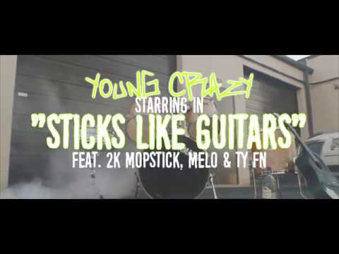 Young Crazy - Stick Like Guitars ft. 2k Mopstick, Melo & Ty FN | Shot By @TheOfficialTreP