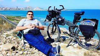 На электро велосипеде по Аликанте, горы, помойки, дороги, гольфовые поля, пляж Постигет