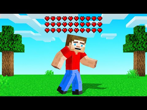 MINECRAFT But ITS IMPOSSIBLE To DIE!