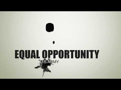 U.S Army Equal Opportunity