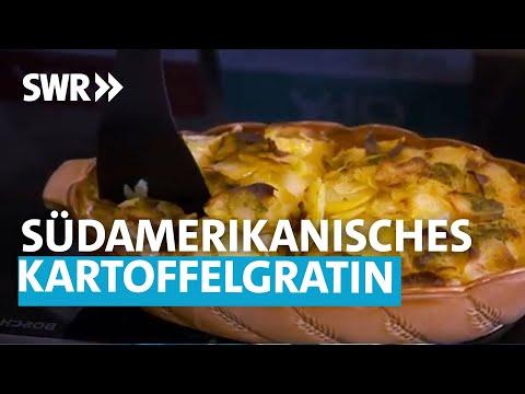 Südamerikanisches Kartoffelgratin und