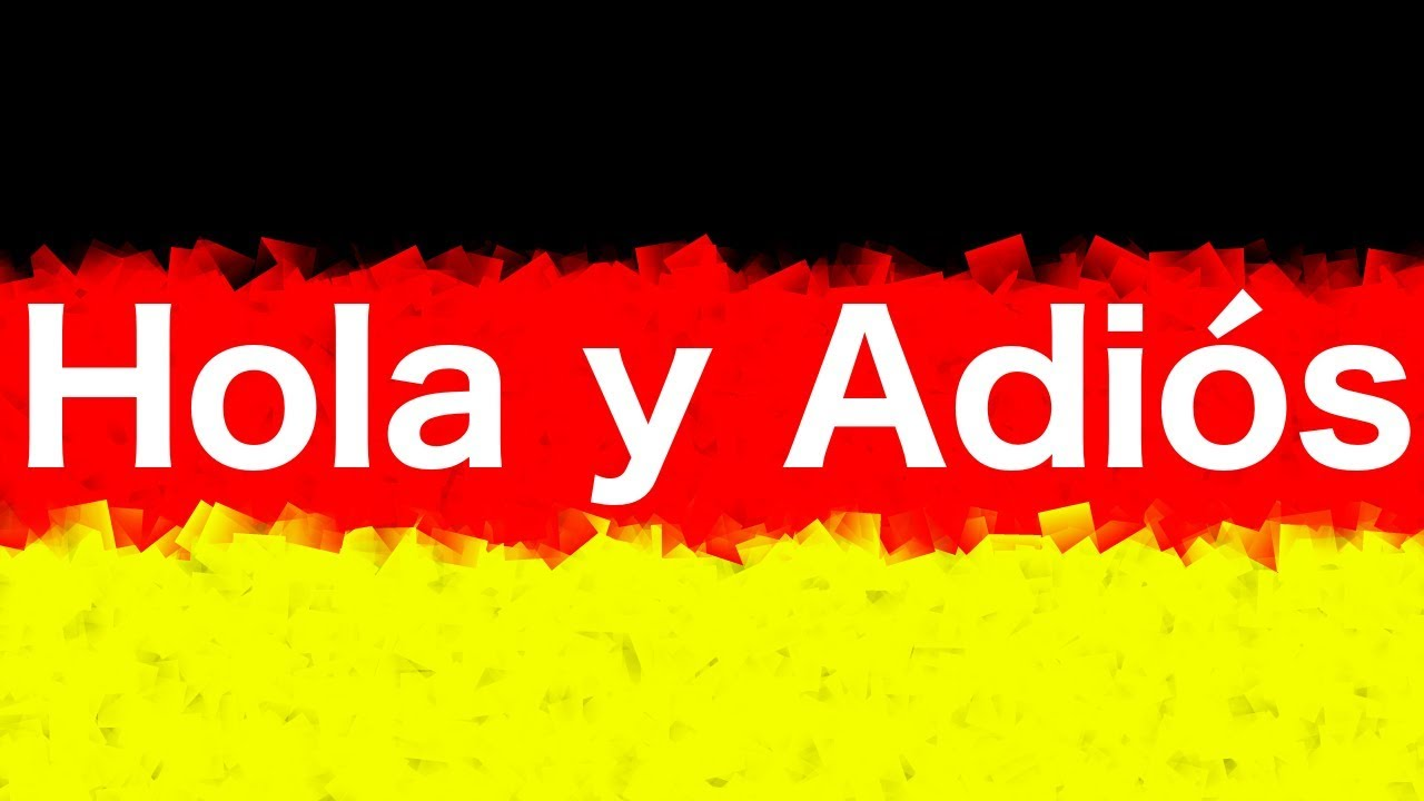 Adios En Aleman Aprendealemancom