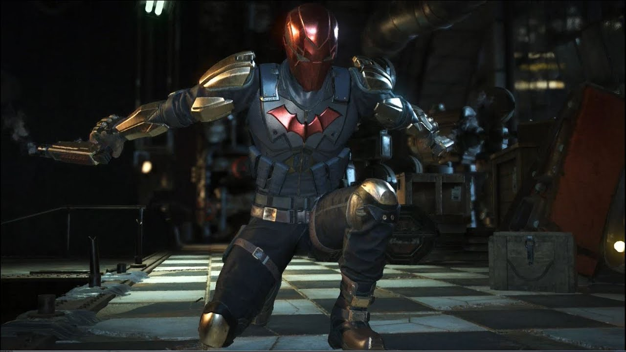 Injustice 2 - Red Hood vs. Deadshot (Epic Gear Gameplay ...