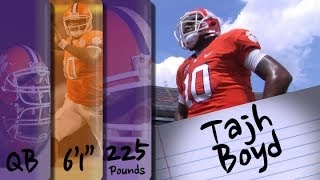 Official Highlights | Clemson QB Tajh Boyd