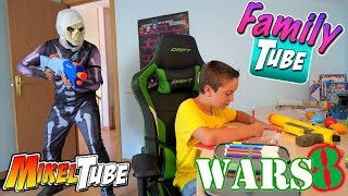FamilyTube #14 MikelTube Wars 8 Fortnite REAL