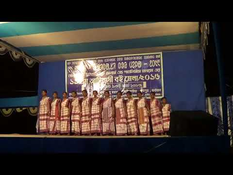 SANTALI DANCE PERFORMENCE - 2016 Org by Palashdiha Adibasi Sporting Club