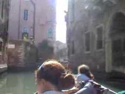 Real Gondolier Songs in Venice