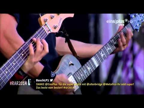 Alter Bridge  Metalingus  Rock am Ring 2014