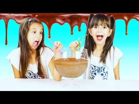 CANDY BAR SMOOTHIE CHALLENGE - EXTREME! EVERY CHOCOLATE BAR IN A SMOOTHIE!!! SIS vs SIS