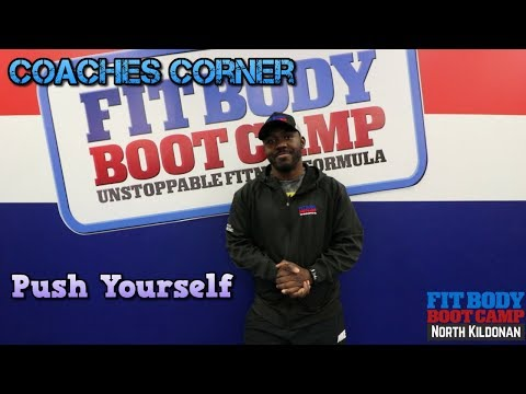 FBBC Coaches Corner push your self