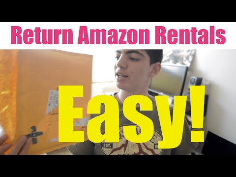 Return Amazon Textbooks! - How To //
