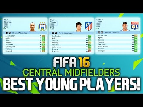 FIFA 16: BEST YOUNG PLAYERS ON CAREER MODE! (MIDFIELDERS)