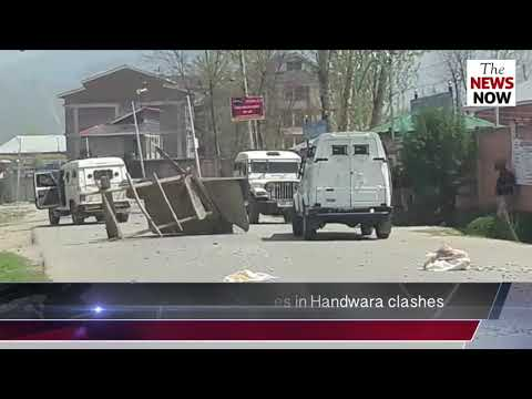 Three students suffer minor injuries in Handwara clashes