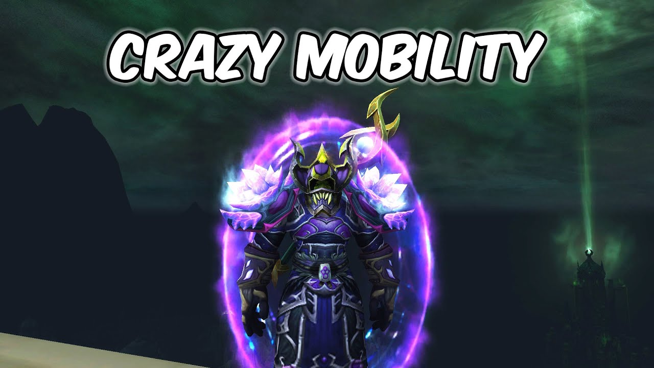 CRAZY MOBILITY - Arcane Mage PvP - WoW Shadowlands 9.0.2